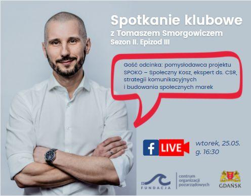 Spotkanie klubowe z Tomaszem Smorgowiczem
